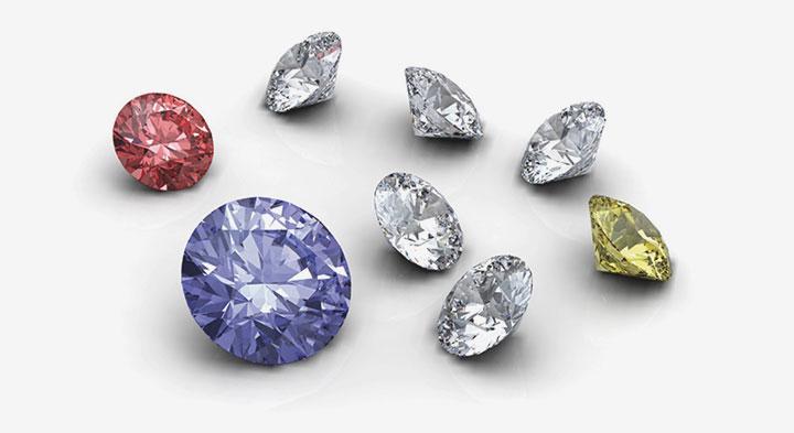 Natural mined HPHT Diamonds